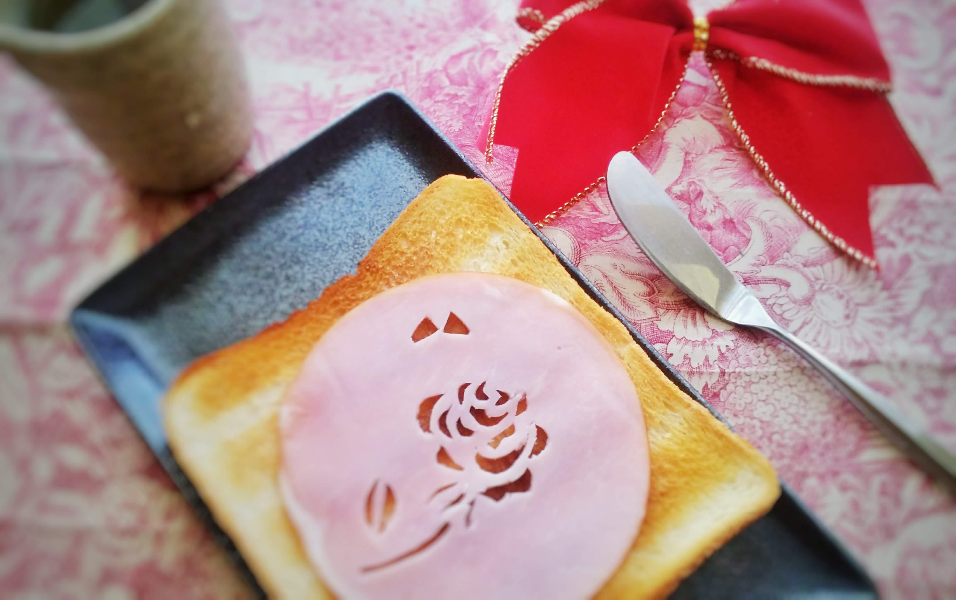 薔薇トースト